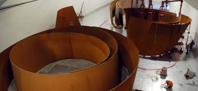 montaje-obra-materia-tiempo-guggenheim-bilbao-museoa